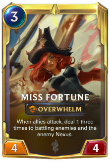 Miss Fortune Transform