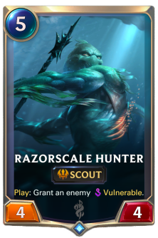 Razorscale Hunter