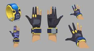 1P hand design ver1