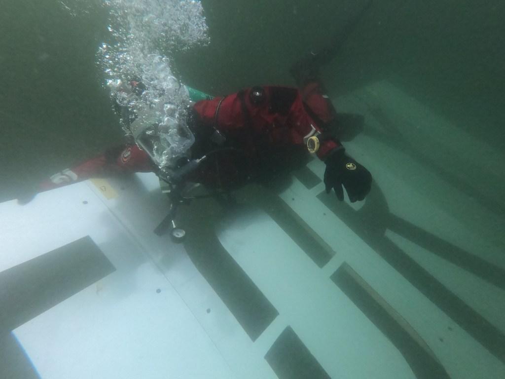 Vanlig dykkermaske og snorkel er ikke nok for å finne frem, antageligvis
