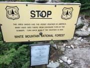 Now entering the Alpine zone