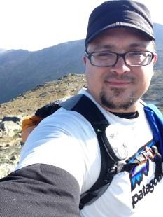 Mt. Monroe Summit Self-Portrait