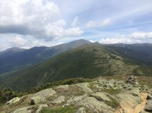 The Crawford Path follows the ridge towards Mt. Monroe