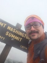 Mt. Washington Summit Selfie