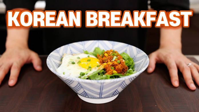 Korean Breakfast