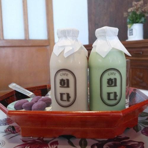 ソウルの牛乳カフェ ヒダ(카페 희다)