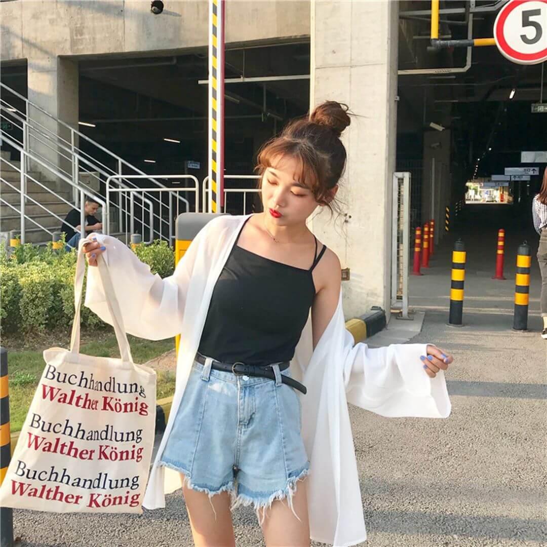 韓国ファッション 夏コーデ