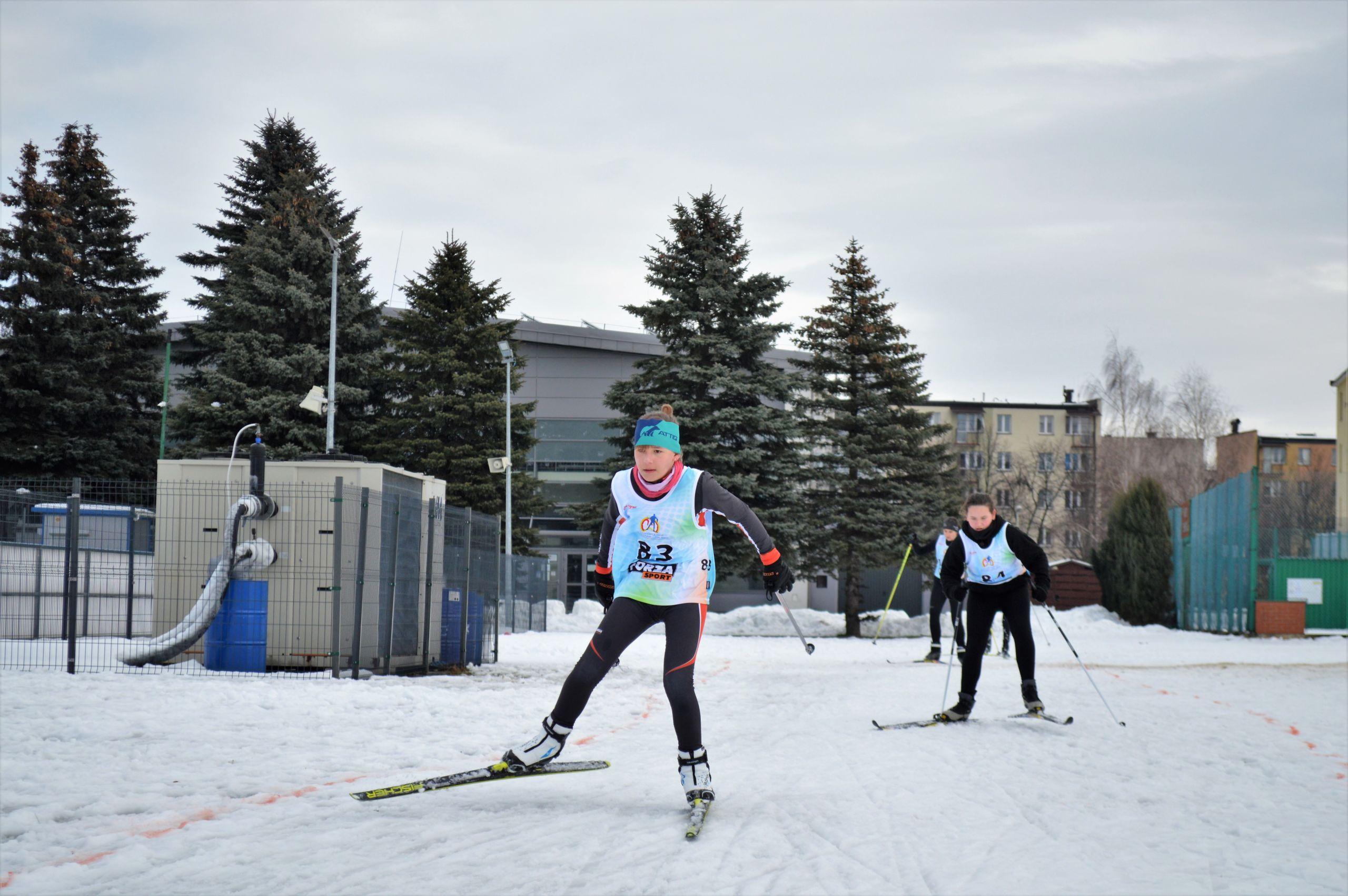 Zawodnicy podczas biegu