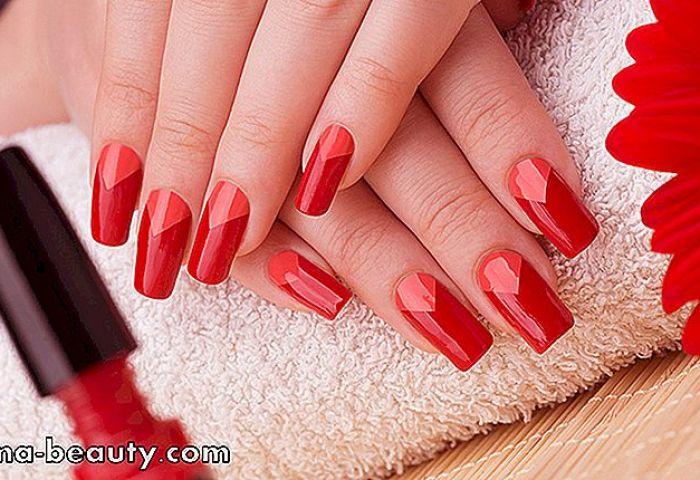 40 Uñas Decoradas Rojas Que Son Sexy Y Elegantes Esuma Beautycom