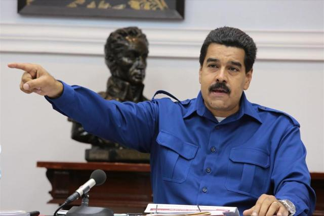 Maduro decidió enfrentar la crisis en el país con un decreto de estado de excepción