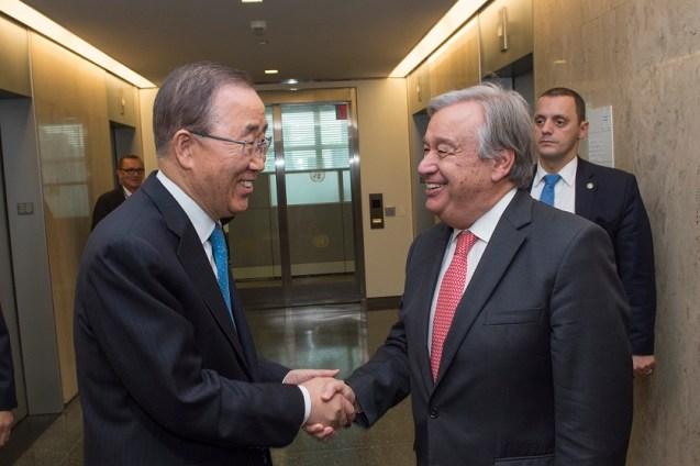 Antonio Guterres sucederá a Ban Ki-Moon.Foto: Cortesía ONU