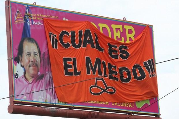 Ortega lleva casi 10 años ininterrumpidos en el poder. Foto: photo credit: jorgemejia Cual es el miedo via photopin (license)