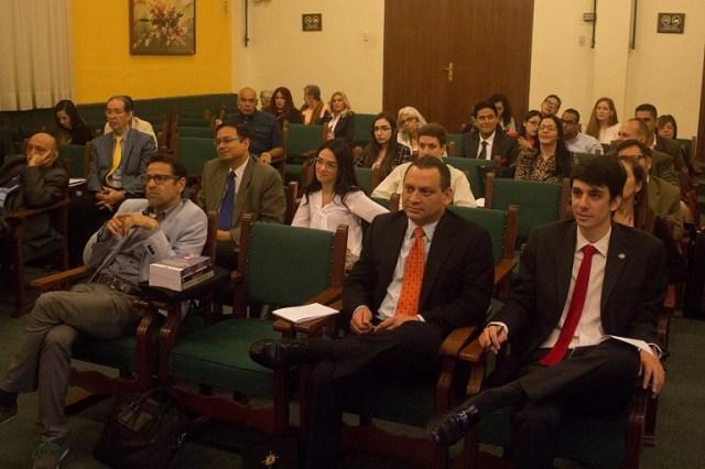 UMA fue sede de VI Congreso Internacional de Derecho Constitucional y IV Congreso de Derecho Administrativo. Foto: Luis Rodrigues