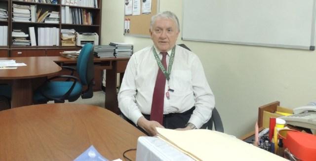 Jorge Luis Velazco Osteicochea preside el Comité de Estudios de Posgrado de la UMA. Foto: María Gabriela Jiménez