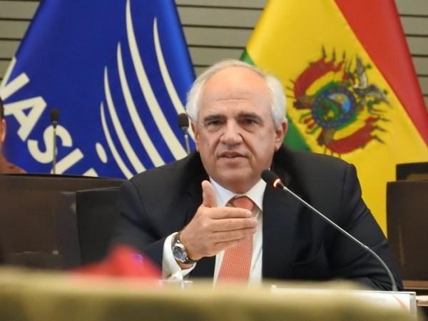 Ernesto Samper es el secretario general de Unasur. Foto: Cortesía Unasur