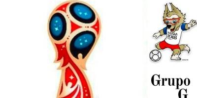 GRUPO G Mundial Rusia 2018