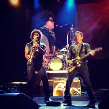 Bruce and Jake Clemons - Houston