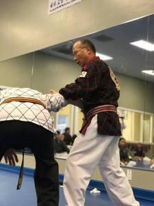 Ko Am Mu Do disarming an attacker