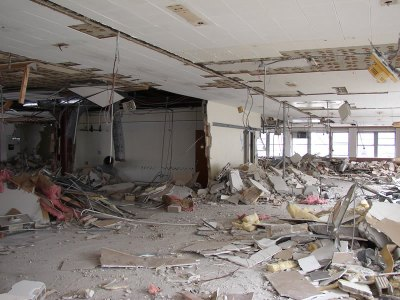 March 2004 - 2nd Floor Demolition