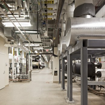 HHW Steam to Water Exchangers - Central Plant