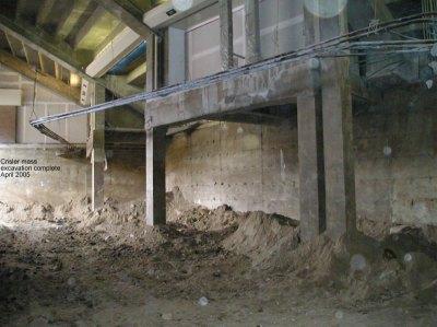 Crisler mass excavation complete