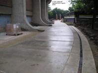 Crisler sidewalk replacement