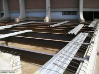 Decking ready for installation