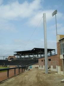 LF Backstop pole