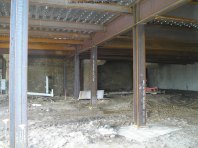 Lobby area looking south