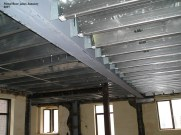 Metal floor joists