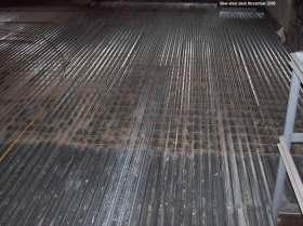 New steel deck