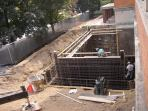 October 2004 - Areaway wall PreparationOc
