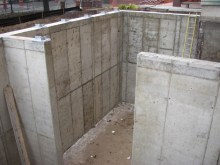 October 2004 - Areaway walls