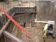 September 2004 - Areaway subfooting preparation