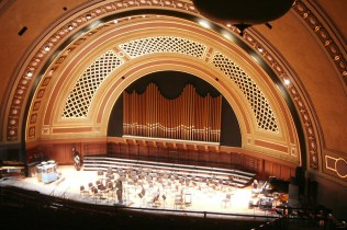 View of Stage from Balcony
