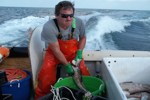 Fisherman for the Sentinel Survey Fishery