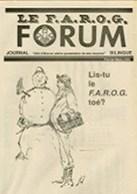 Le FAROG FORUM, 17.5/6