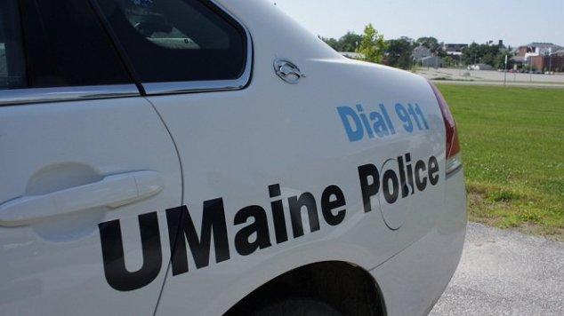 UMaine Police cruiser close-up