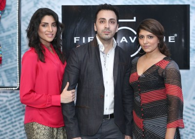 zhaley with amir anees and sanam agha