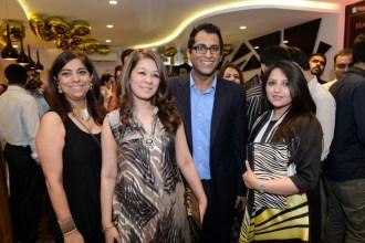 Fareshteh, Fariha, Asad & Asima