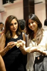Salima Feerasta with Faiza Lakhani