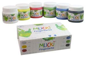 Geschenke für Veganer: Mucki Fingerfarbe
