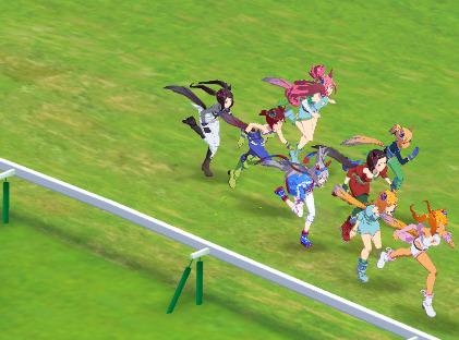 【ウマ娘】ここから勝つのかタマモクロス すごいレースだ