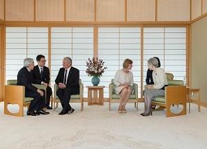 ドイツ大統領閣下及びシャート女史ご会見