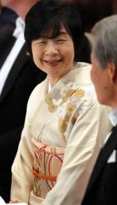 ベルギー国王夫妻歓迎宮中晩さん会黒田清子さん
