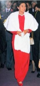 1995年外国訪問の雅子さま