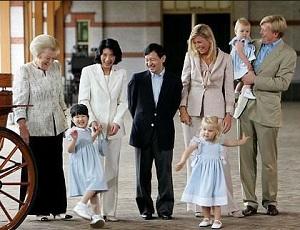皇太子雅子さまオランダ豪遊旅行