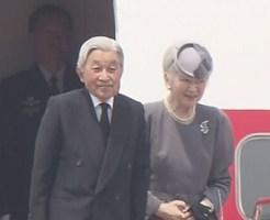タイからご帰国の途につかれる天皇皇后両陛下