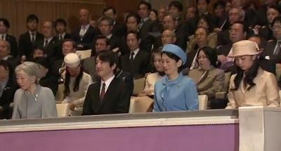 音大生卒業演奏会皇后さま秋篠宮様紀子さま佳子さま