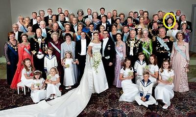 スウェーデン皇太子結婚式